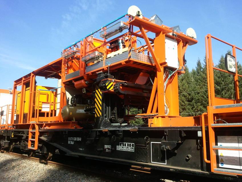 Mesure et contrôle d'infrastructure ferroviaire