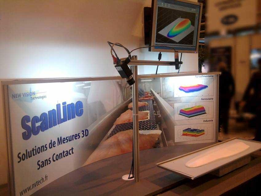 SCANLINE, mesure 3D par profilométrie LASER